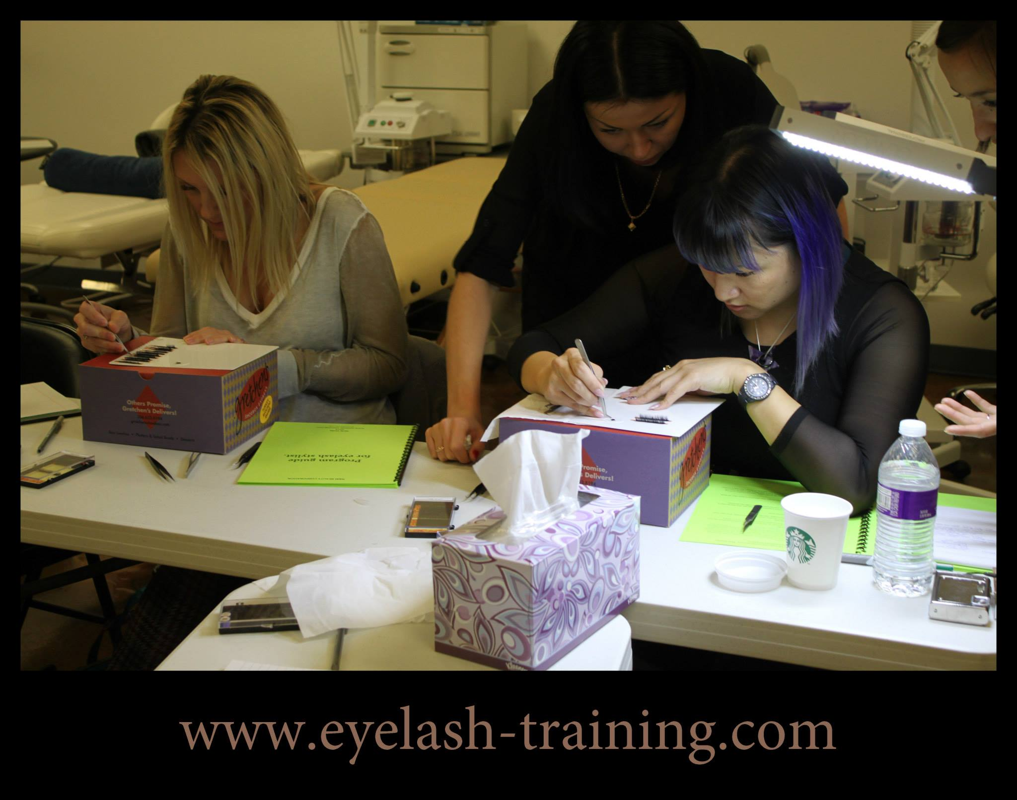 Lash extensions sertification in Atlanta