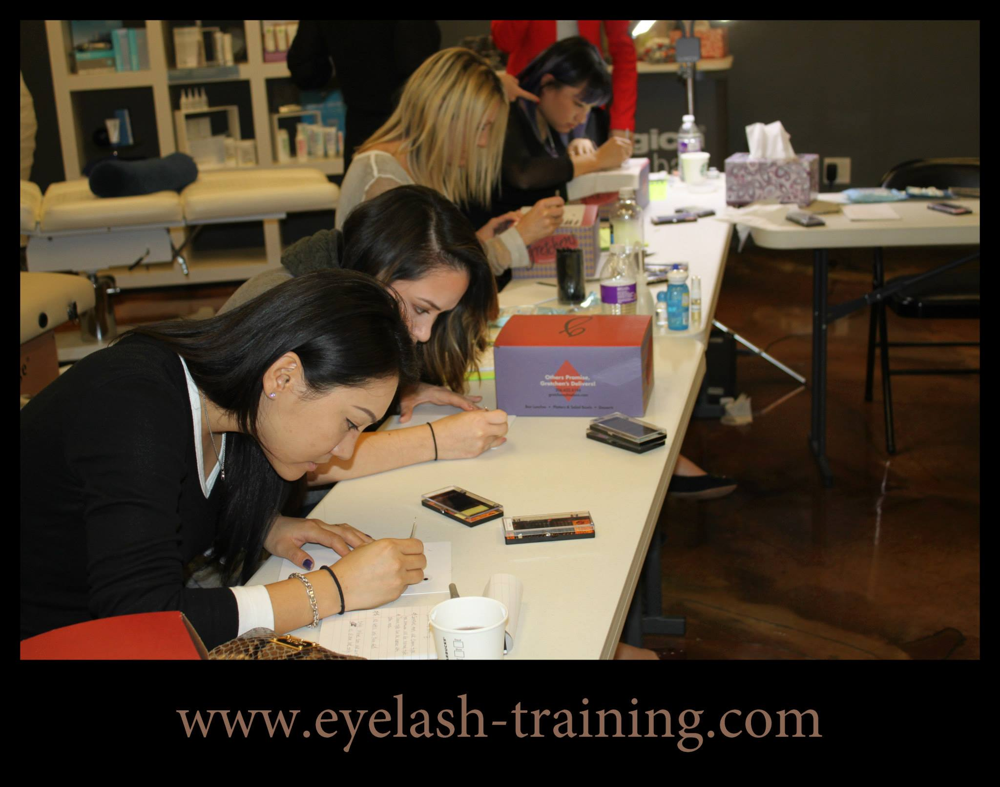 lash extensions training in Atlanta