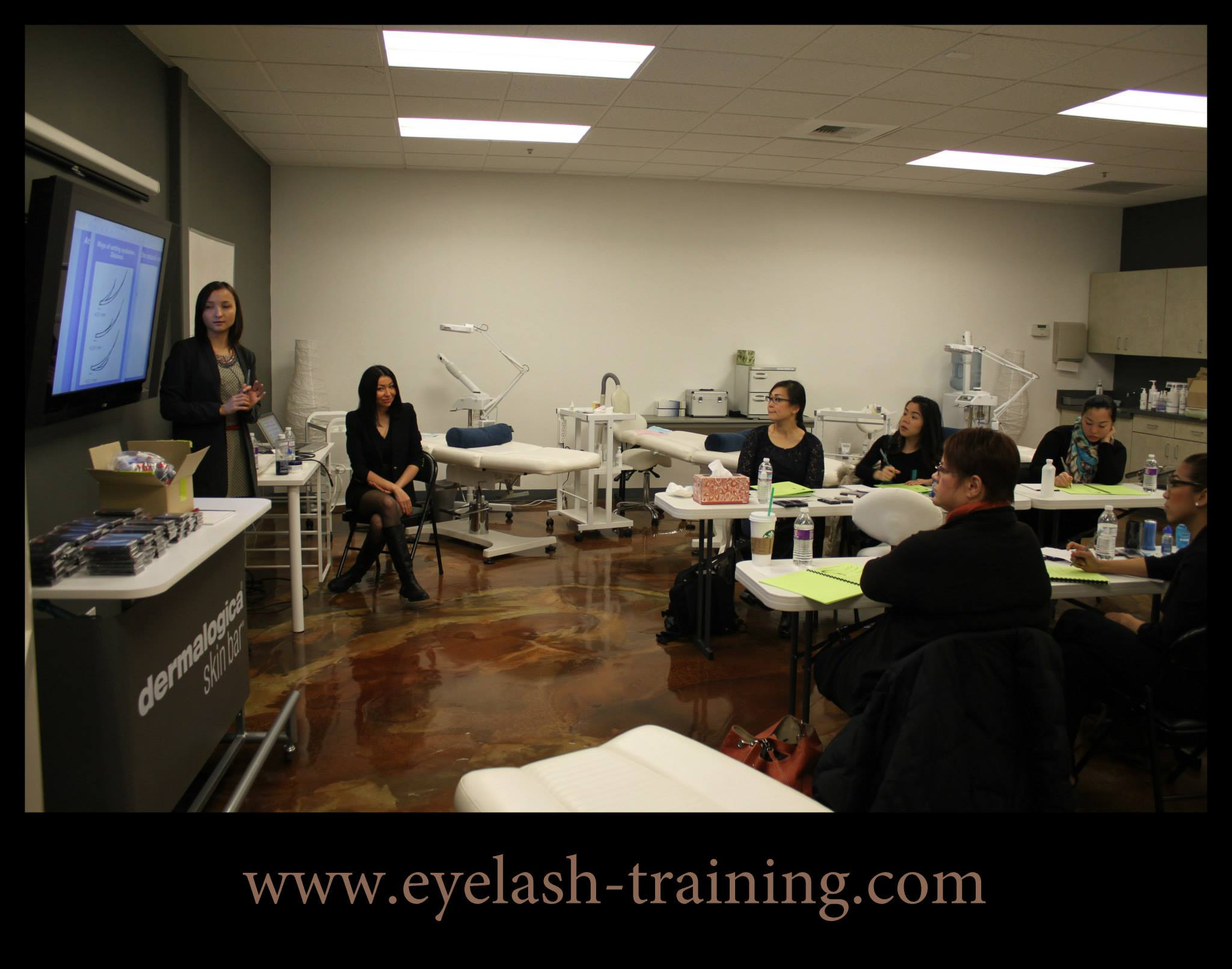 Eyelash extensions training in Atlanta